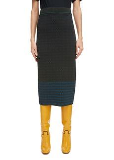 Victoria Beckham Signature Sweater Skirt