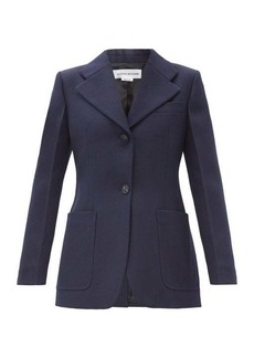Victoria Beckham Single-breasted wool-twill jacket