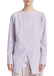 Victoria Beckham Stripe Open Back Shirt