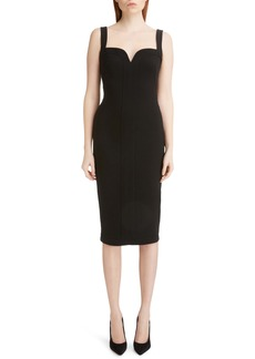Victoria Beckham Sweetheart Body-Con Dress