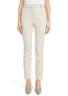 Victoria Beckham Tweed Slim Leg Trousers