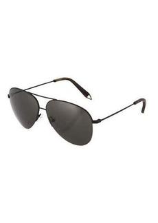 Victoria Beckham Victoria Classic Aviator Metal Sunglasses