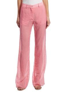 Victoria Beckham Wide-Leg Trouser Pants
