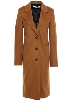 Victoria Beckham Woman Cashmere Brushed-felt Coat Light Brown