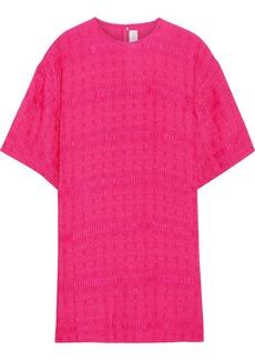 Victoria Beckham Woman Cloqué Top Bright Pink