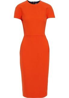 Victoria Beckham Woman Crepe Dress Orange