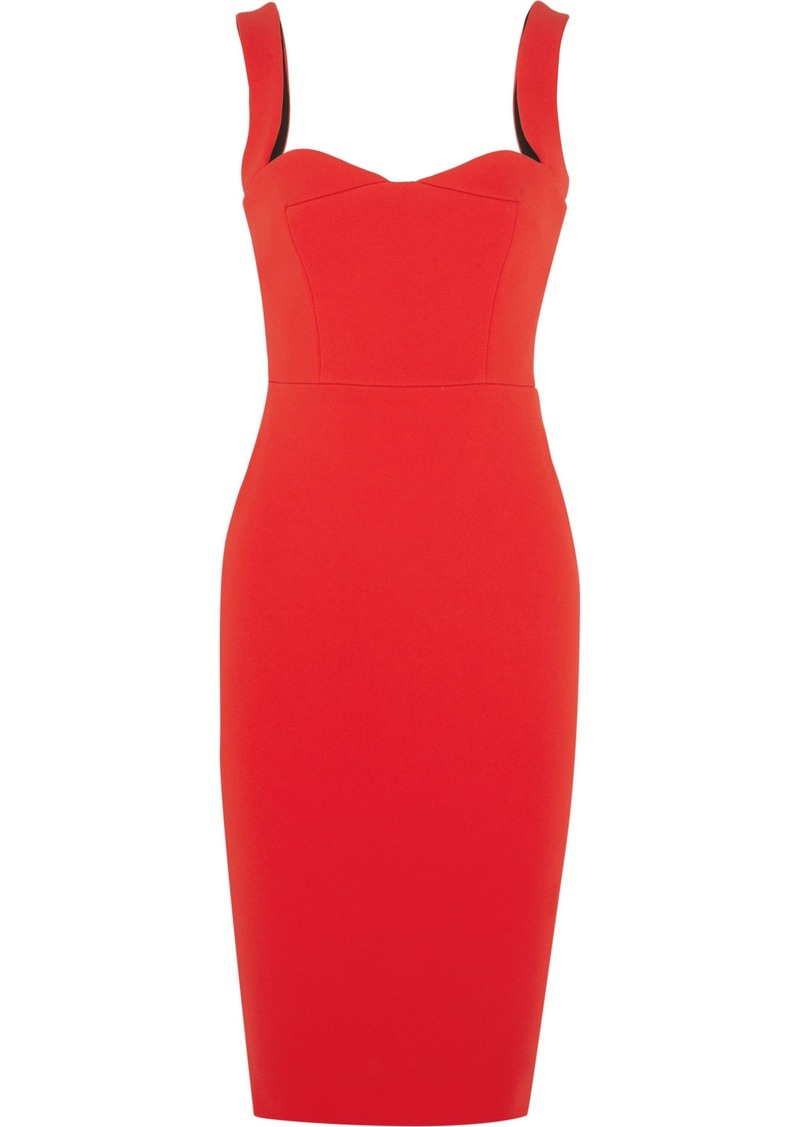 Victoria Beckham Woman Crepe Dress Red