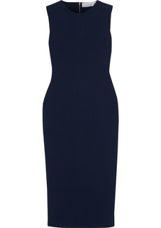 Victoria Beckham Woman Crochet-knit Dress Navy