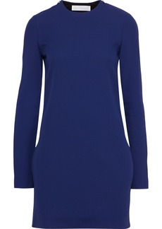 Victoria Beckham Woman Cutout Crepe Mini Dress Royal Blue