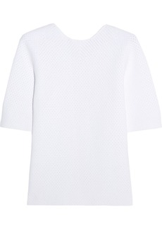 Victoria Beckham Woman Elite Crocheted Top White
