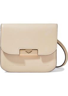 Victoria Beckham Woman Eva Leather Shoulder Bag Beige