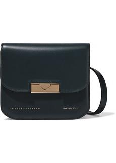 Victoria Beckham Woman Eva Leather Shoulder Bag Dark Green