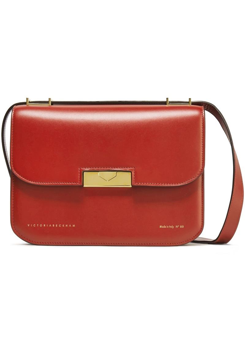 Victoria Beckham Woman Eva Leather Shoulder Bag Brick