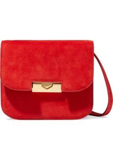 Victoria Beckham Woman Eva Suede Shoulder Bag Red