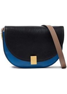 Victoria Beckham Woman Half Moon Box Nano Leather Shoulder Bag Black