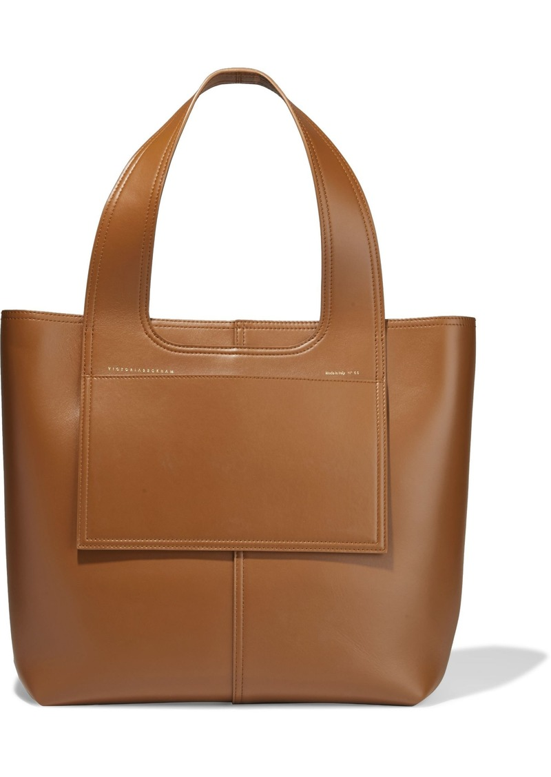 Victoria Beckham Woman Leather Tote Tan