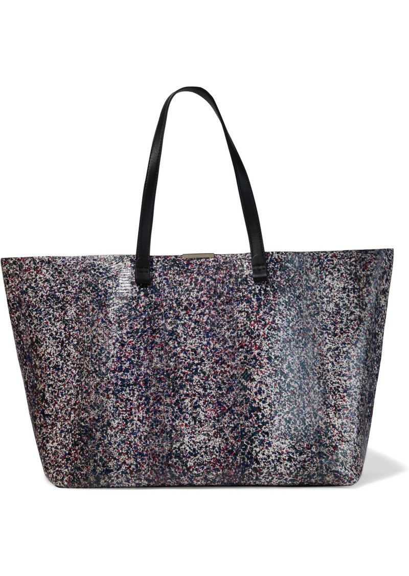 Victoria Beckham Woman Printed Ayers Tote Multicolor