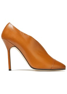 Victoria Beckham Woman Refined Pin Leather Pumps Light Brown