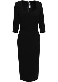 Victoria Beckham Woman Stretch-crepe Dress Black