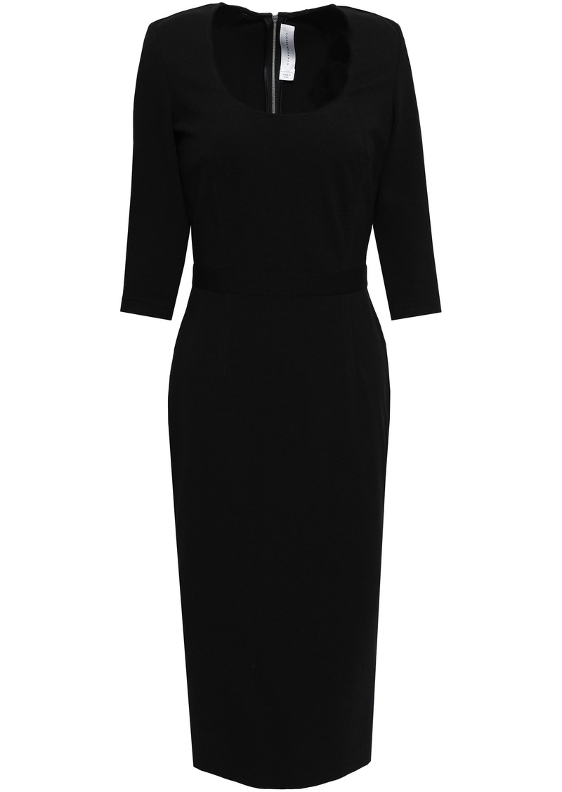 Victoria Beckham Woman Stretch-crepe Dress Black