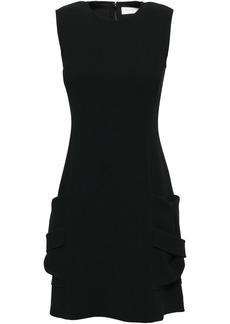 Victoria Beckham Woman Stretch-crepe Mini Dress Black