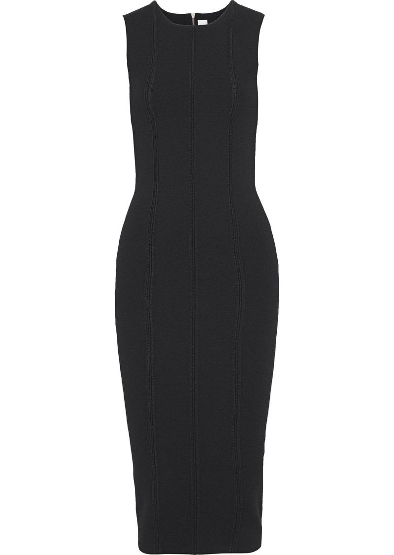 Victoria Beckham Woman Stretch-knit Dress Black