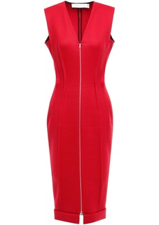 Victoria Beckham Woman Twill Dress Red