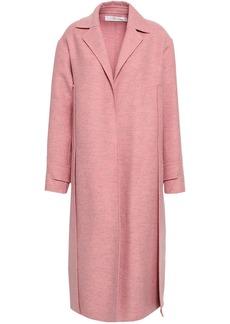 Victoria Beckham Woman Wool-felt Coat Baby Pink