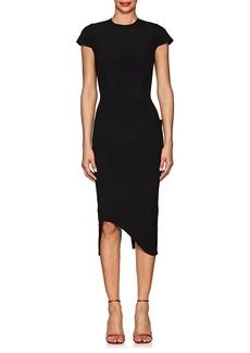 Victoria Beckham Women's Bonded Crepe Zip-Back Dress