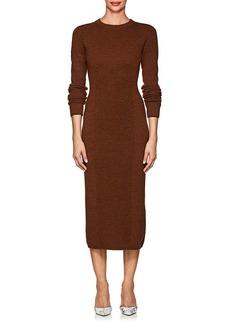 Victoria Beckham Women's Multi-Knit Wool Fitted Dress