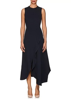Victoria Beckham Women's Ruffled Midi-Dress
