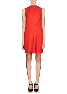 Victoria Beckham Women's Satin-Back Crepe Shift Dress