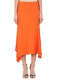 Victoria Beckham Women's Textured Midi-Skirt