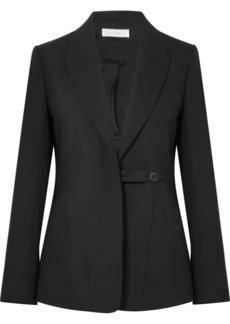 Victoria Beckham Wool And Mohair-blend Blazer