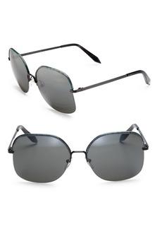 Victoria Beckham Windsor 60MM Square Sunglasses