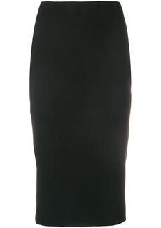 Victoria Beckham zipped pencil skirt