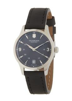 Victorinox Alliance Leather Strap Watch, 30mm