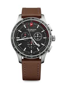 Victorinox Alliance Sport Leather Strap Watches