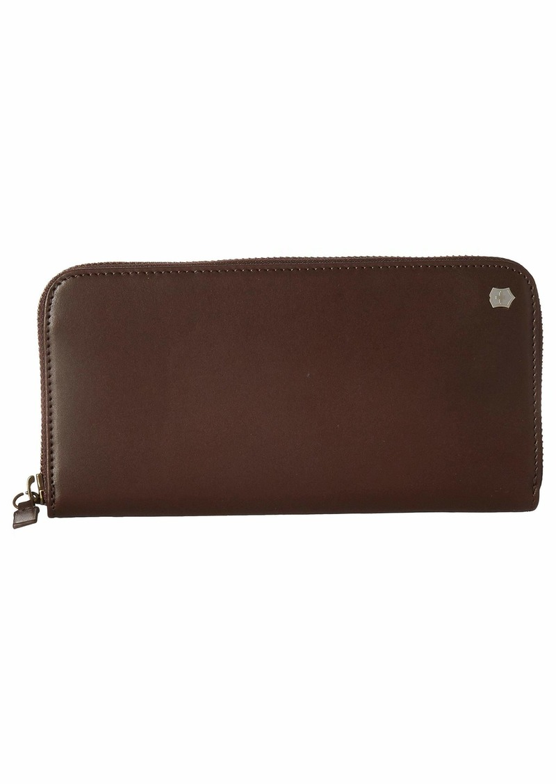 Victorinox Altius Edge Turing Zippered Deluxe Clutch Wallet w/ RFID