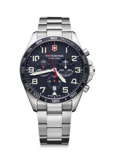 Victorinox Field Force Chronograph Stainless Steel Bracelet Strap Watch