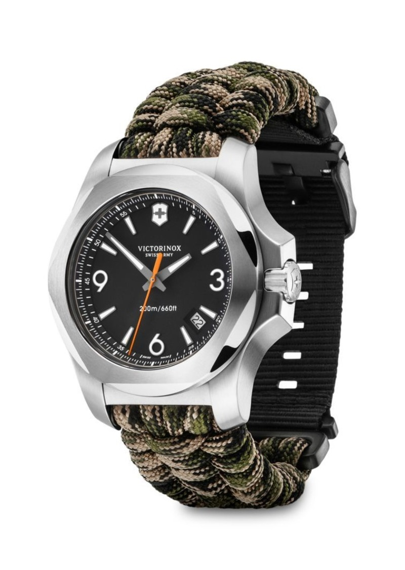 Victorinox I.N.O.X. Paracord & Stainless Steel Watch