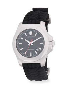 Victorinox Inox Paracord Woven Strap Watch