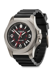 Victorinox I.N.O.X. Round Titanium & Stainless Steel Analog Watch