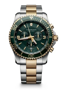 Victorinox Maverick Chrono Two-Tone Stainless Steel Watch