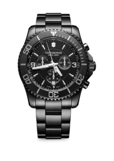 Victorinox Maverick PVD Stainless Steel Bracelet Watch