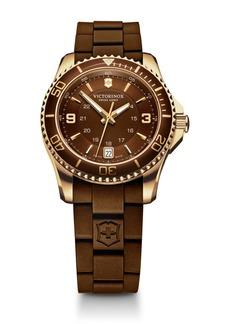 Victorinox Maverick Sutomatic Small Rubber Strap Watch, 34mm