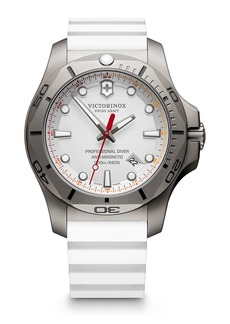 Victorinox Men's I.N.O.X. Pro Diver Titanium & Rubber Strap Watch, 45mm