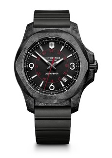 Victorinox Men's I.N.O.X. Rubber Strap Watch, 43mm