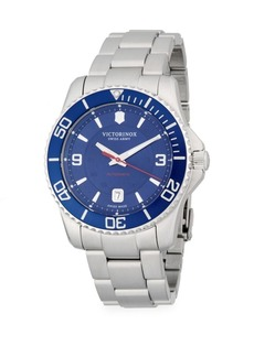 Victorinox Stainless Steel Automatic Bracelet Watch