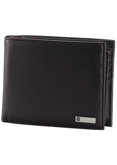 Victorinox Men's Altius 3.0 Amsterdam Leather Bi-Fold Wallet with Passcase